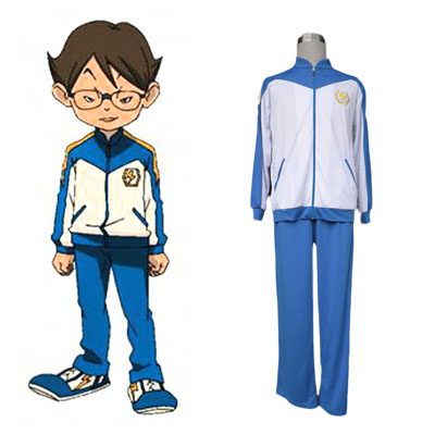 Inazuma Eleven Japan Team Vinter 1 Cosplay Kostym