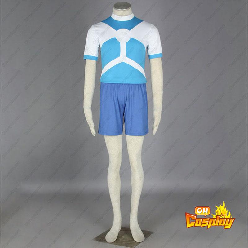 Inazuma Eleven Alien Soccer жарсе Cosplay костюми