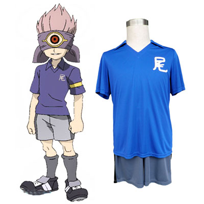 Inazuma Eleven Junior high Soccer жарсе Cosplay костюми