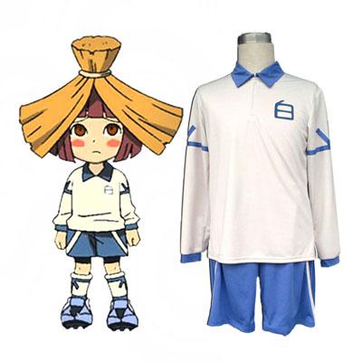 Inazuma Eleven Hakuren Summer Soccer Jersey 2ND Cosplay Costumes