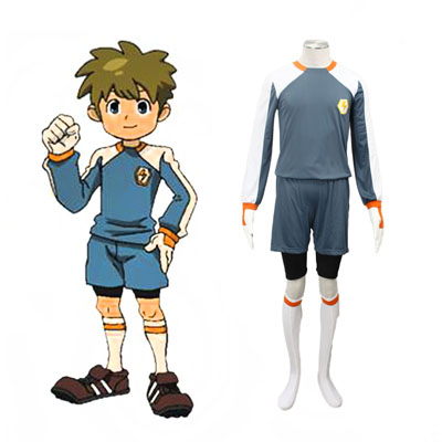 Inazuma Eleven Raimon Goalkeeper Soccer Jersey 2ND Cosplay Costumes