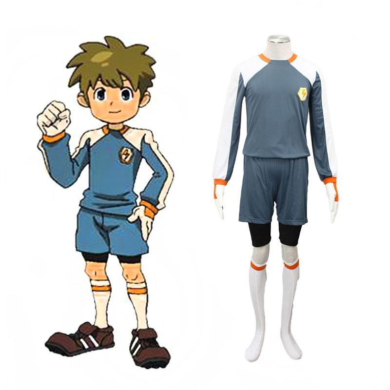 Inazuma Eleven Raimon Goalkeeper Soccer жарсе 2 Cosplay костюми