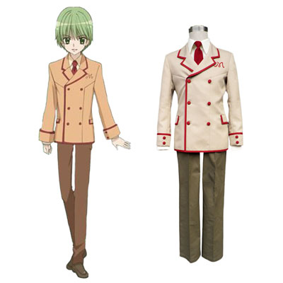Yumeiro Patissiere Male School Työvaate Cosplay Puvut