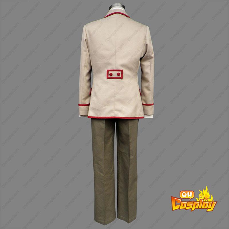 Yumeiro Patissiere Male School Uniforms Cosplay Kostym