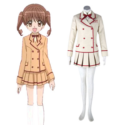 Yumeiro Patissiere Hunn School Uniform Cosplay Kostymer