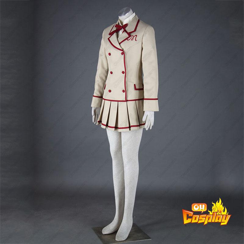 Yumeiro PatissiereKvinnlig skoluniform Cosplay Kostym