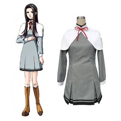 Tokimeki Memorial Girl's Side Naaras School Työvaate Cosplay Puvut