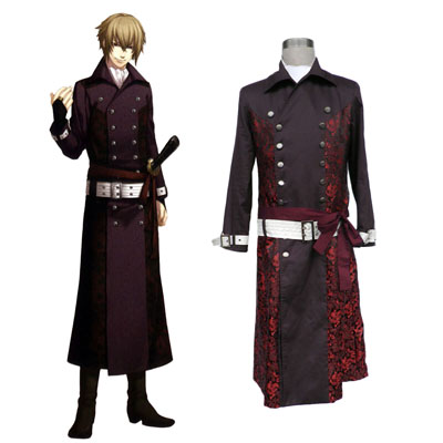 Hakuouki Kazama Chikage 1 Cosplay Kostymer