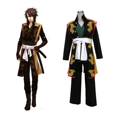 Hakuouki Okita Souji 1 Cosplay Costumes UK