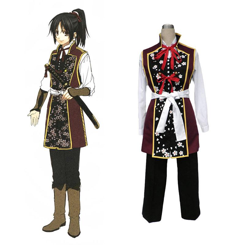 Hakuouki Chizuru Yukimura 2 Cosplay Kostym