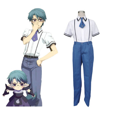 Baka and Test Male School Uniform Cosplay Kostym