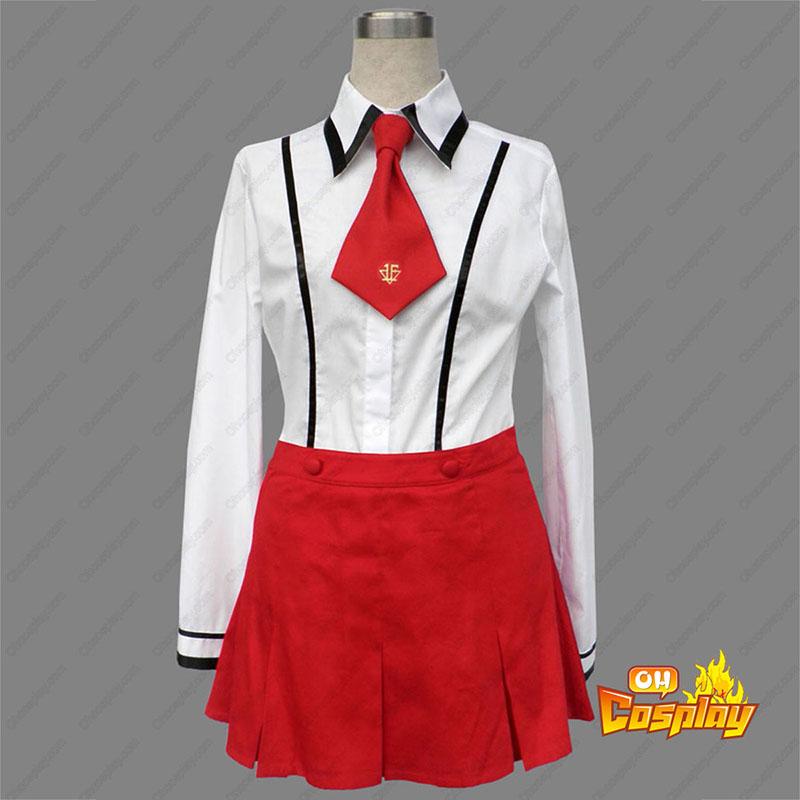 Baka and Test Female Vinter School Uniformer udklædning Fastelavn Kostumer