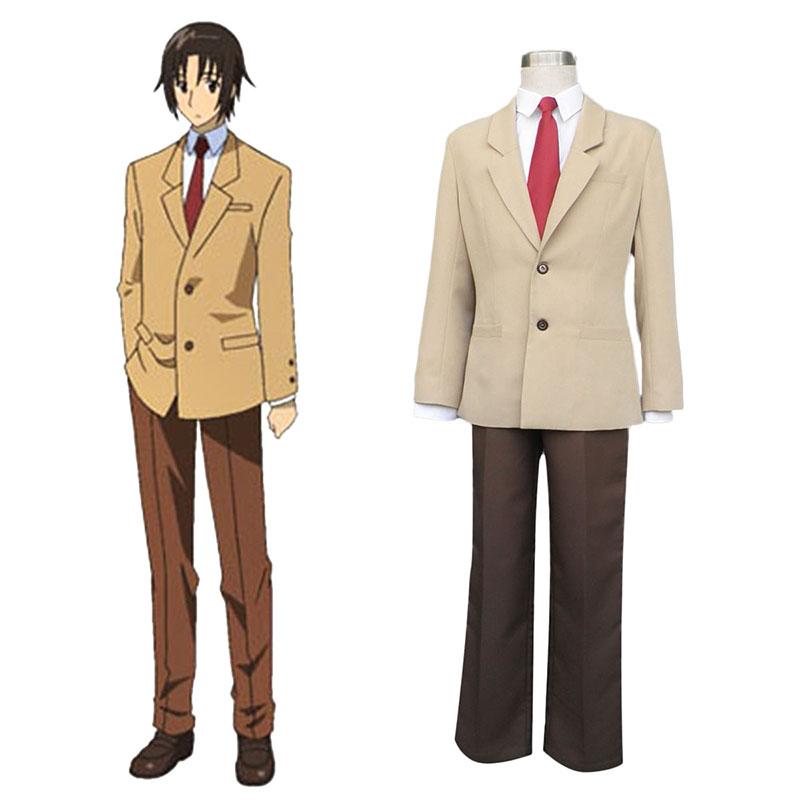 Seitokai Yakuindomo Tsuda Takatoshi 1 Cosplay костюми