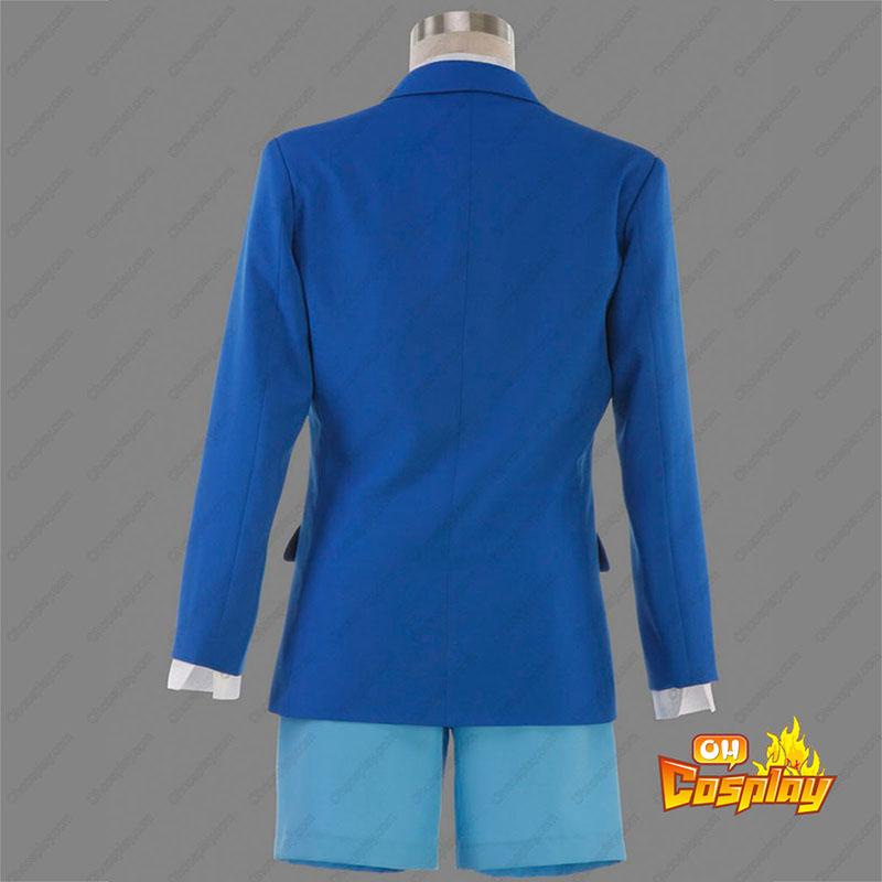 Detective Conan Edogawa Konan School Uniform 1 Cosplay Kostym