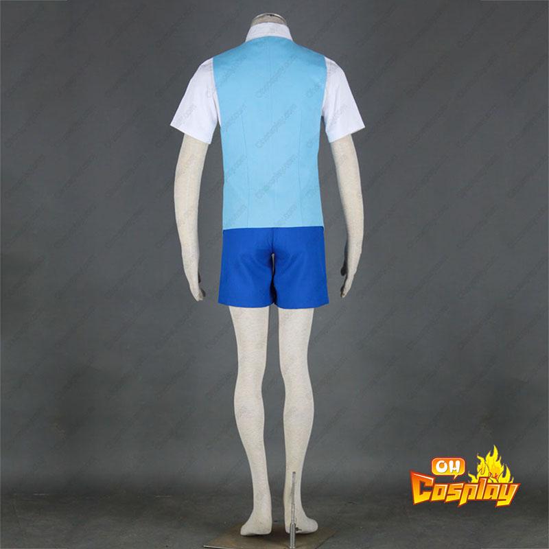 Detective Conan Edogawa Konan Sommar Uniform 2 Cosplay Kostym