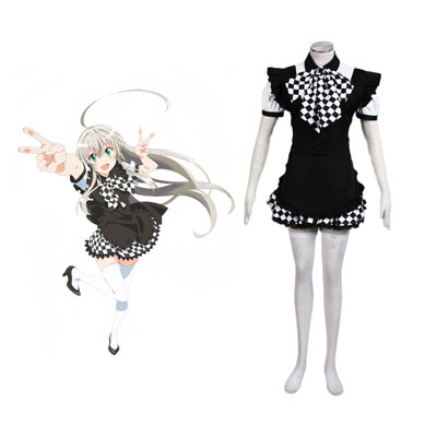 Nyaruko: Crawling with Love Nyaruratohotepu 1ST Cosplay Costumes Deluxe Edition