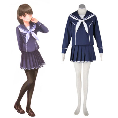 Déguisement Costume Carnaval Cosplay love plus Nene Anegasaki 2