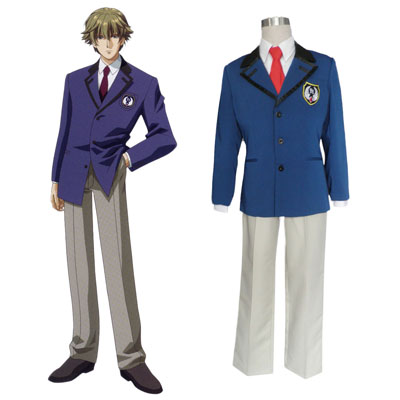 Tokimeki Memorial Girl's Side Male Uniform 1 Cosplay Kostymer