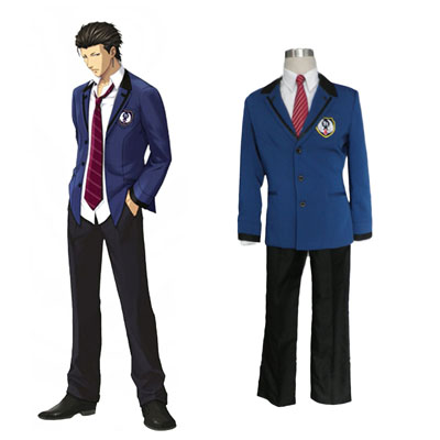 Tokimeki Memorial Flicka Side: 3 Story Male Uniform 2 Cosplay Kostym