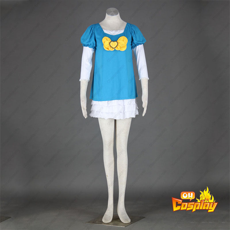 HeartCatch Pretty Cure! Erika Kurumi תחפושות קוספליי