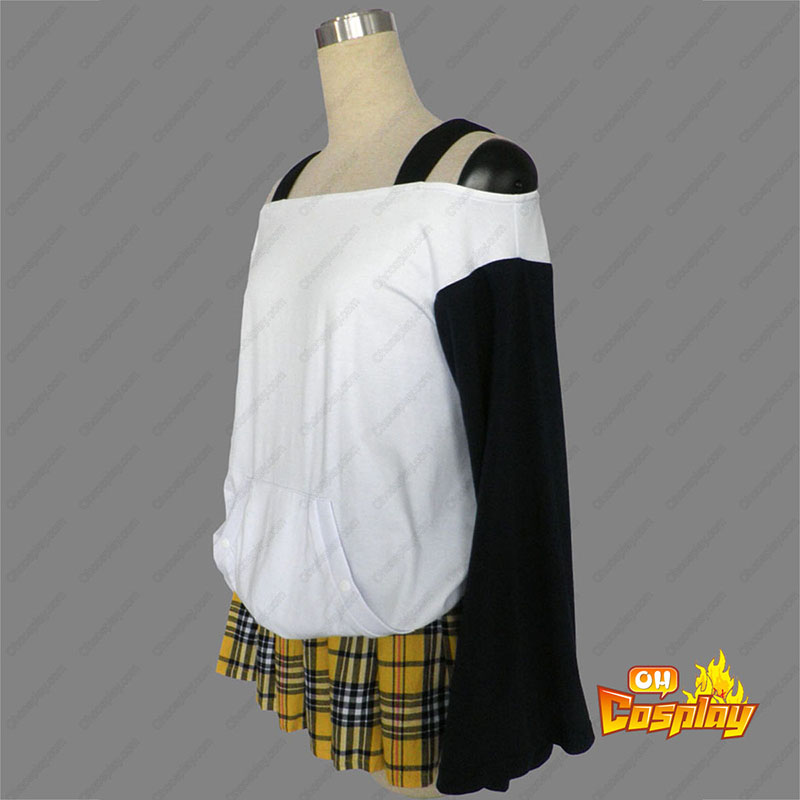 Rosario + Vampire Mizore Shirayuki 1ST Cosplay Costumes