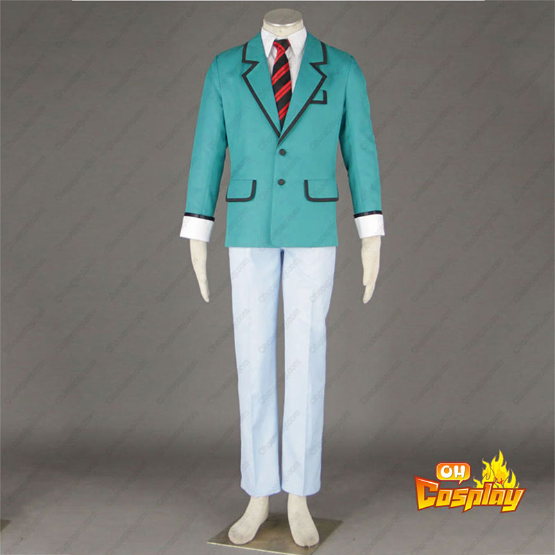Bakuman Male School Uniform Traje Cosplay