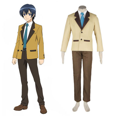 MM! Male Vinter School Uniform Cosplay Kostymer