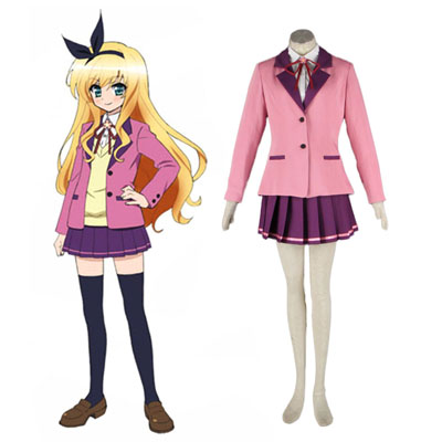 MM! Kvinna Vinter School Uniform Cosplay Kostym