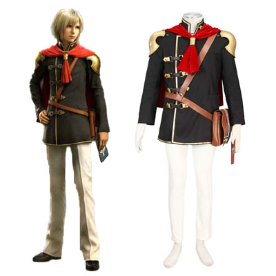 Final Fantasy Type-0 Ace 1 Cosplay Kostym
