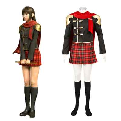 Final Fantasy Type-0 Deuce 1 Cosplay Kostym