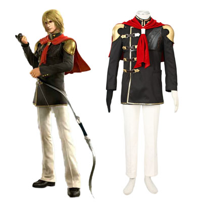 Final Fantasy Type-0 Trey 1 Cosplay Kostym