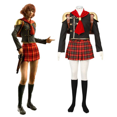 Costumi Carnevale Final Fantasy Type-0 Cater 1 Cosplay