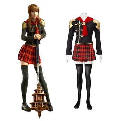 Final Fantasy Type-0 Cinque 1ST Cosplay Costumes Deluxe Edition
