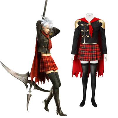 Final Fantasy Type-0 Sice 1 Cosplay Kostym