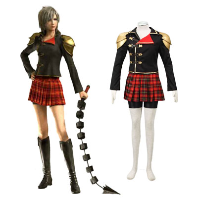 Final Fantasy Type-0 Seven 1ST Cosplay Costumes Deluxe Edition