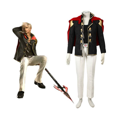 Costumi Carnevale Final Fantasy Type-0 Nine 1 Cosplay