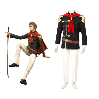 Final Fantasy Type-0 Jack 1 Cosplay Kostymer