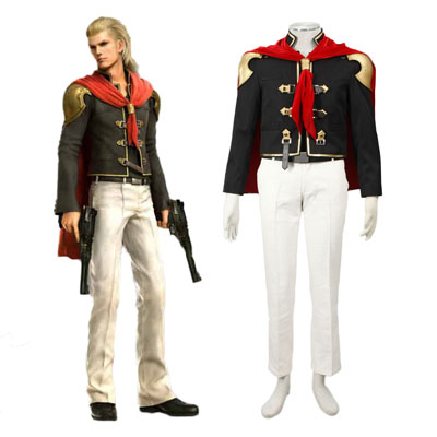 Final Fantasy Type-0 King 1ST Cosplay Costumes Deluxe Edition