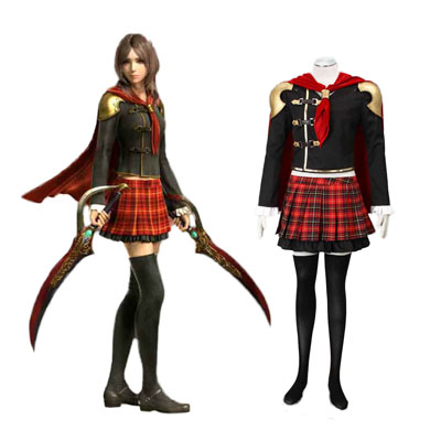Final Fantasy Type-0 Rem Tokimiya 1ST Cosplay Costumes Deluxe Edition