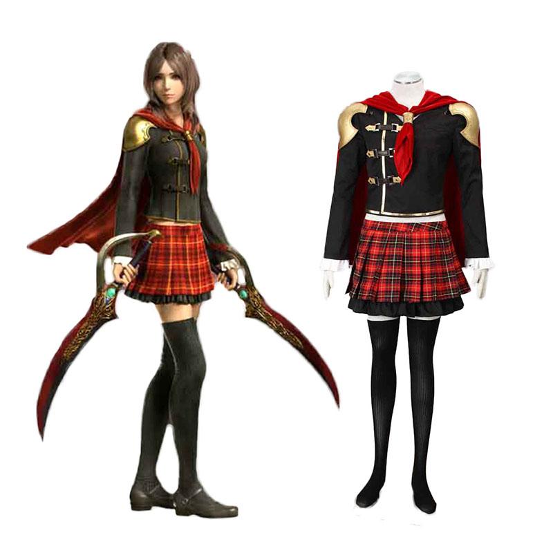 Final Fantasy Type-0 Rem Tokimiya 1 Cosplay костюми