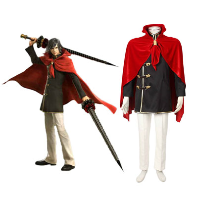 Final Fantasy Type-0 Machina Kunagiri 1 Cosplay Kostym