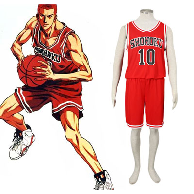 Slam Dunk Hanamichi Sakuragi 1 Cosplay Costumes UK