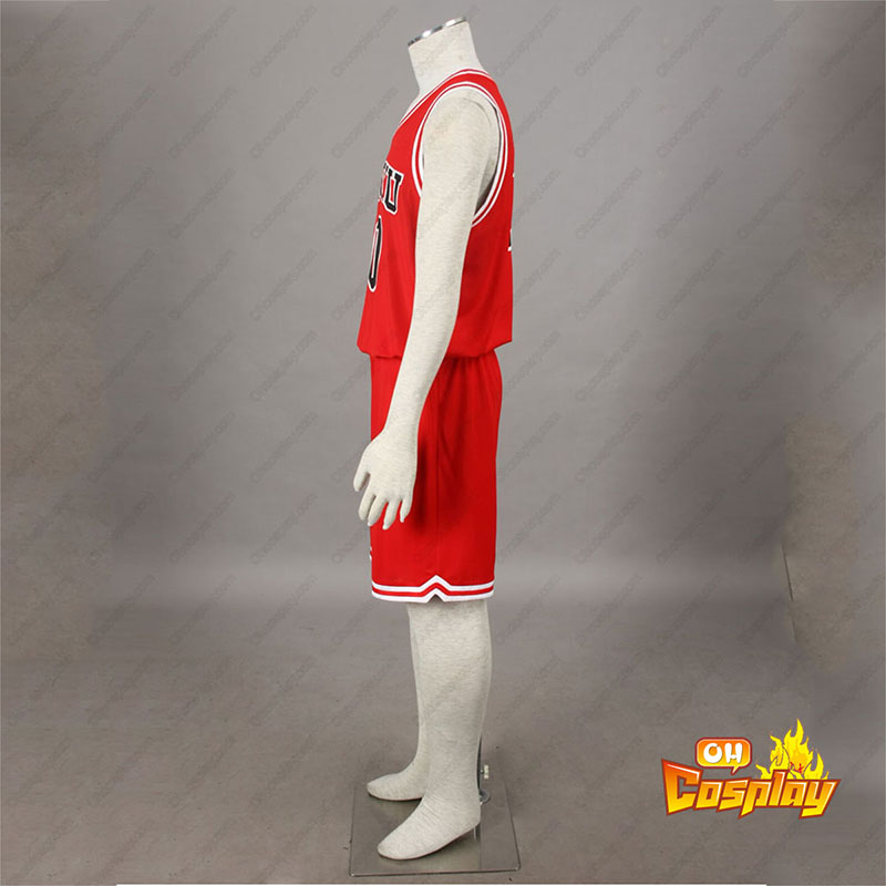 Slam Dunk Hanamichi Sakuragi 1 Cosplay костюми