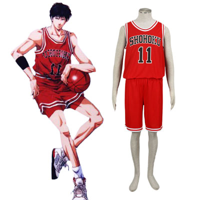 Disfraces Slam Dunk Kaede Rukawa 1 Cosplay
