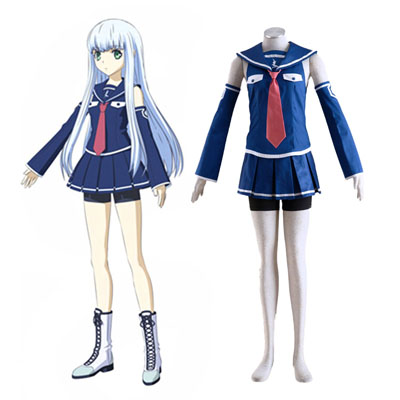 Arpeggio of Blue Steel Iona Cosplay Costumes Deluxe Edition