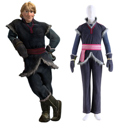 Frozen Kristoff 1 Cosplay Costumes UK