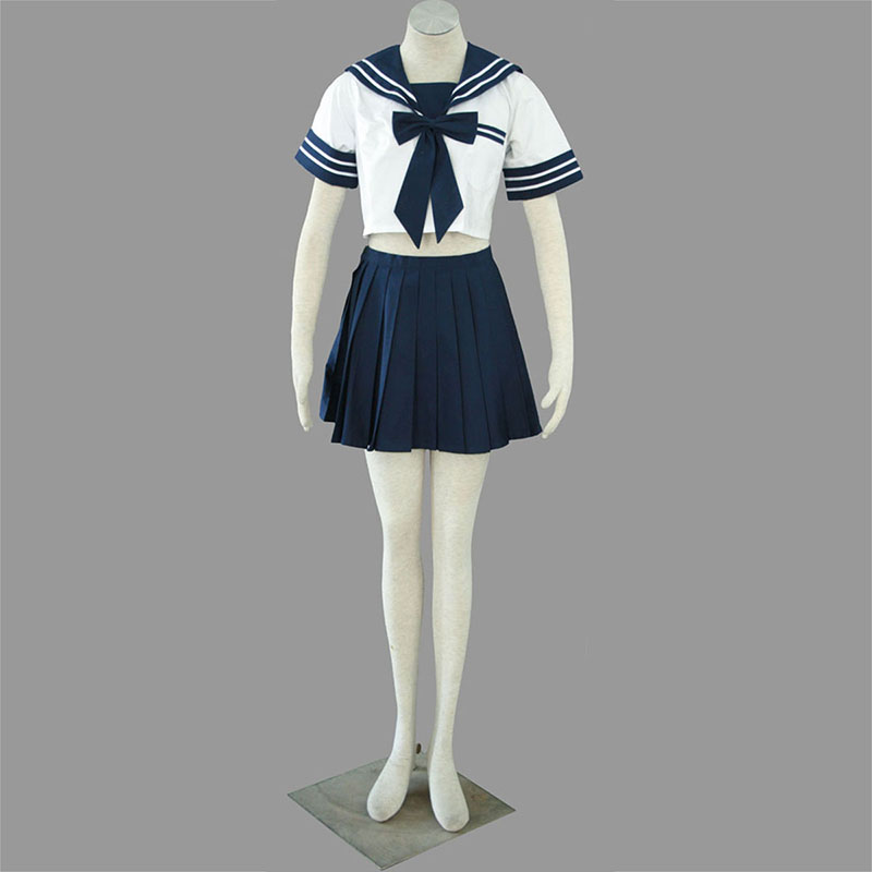 Sailor Uniform 4 High School Cosplay Kostym