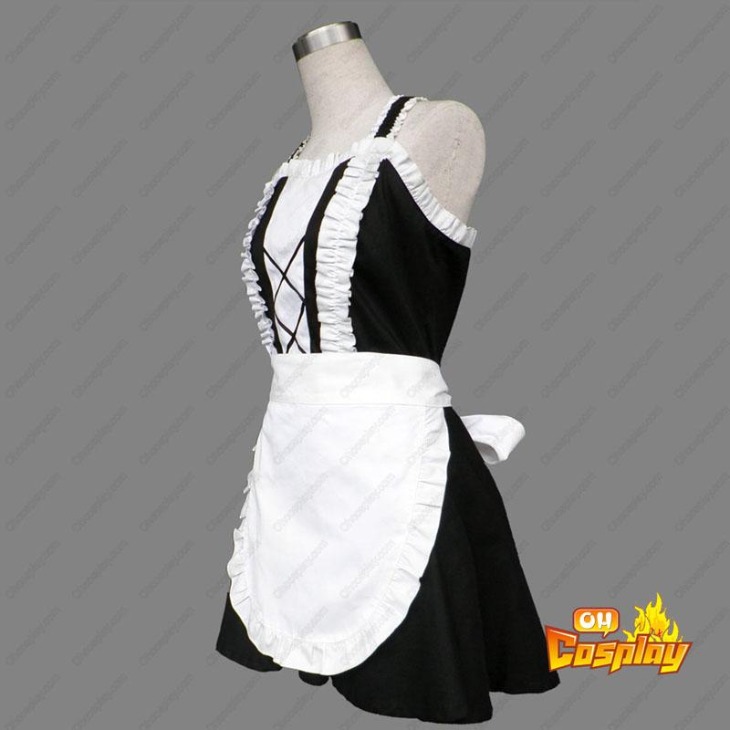 Maid Uniform 3 Devil Attraction Traje Cosplay
