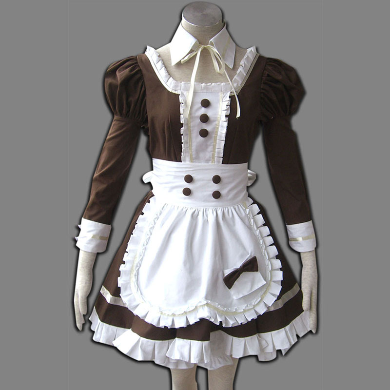 Maid Uniform 4 Coffee Whispery Cosplay Kostýmy