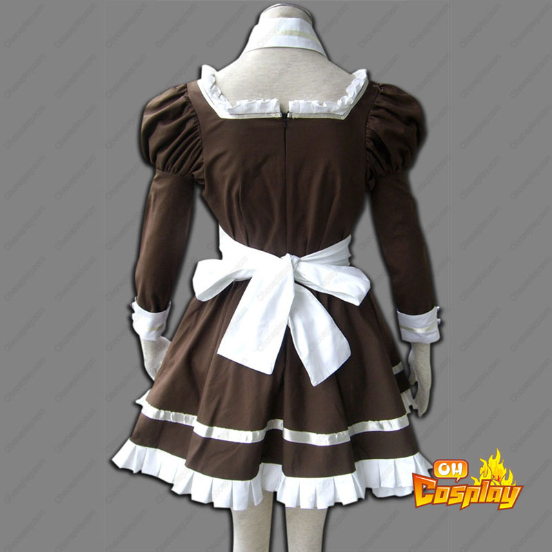 Maid Uniform 4 Coffee Whispery Traje Cosplay